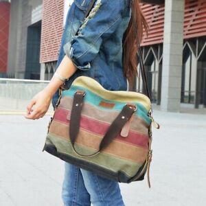 Fashion-Women-Vintage-Canvas-Handbag-Messenger-Casual-Tote-Bag-Shoulder-Purse