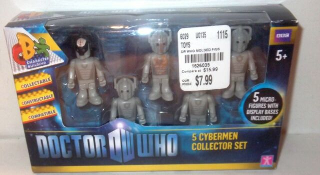 Doctor Who Character Building Cybermen Collector Figures Set NEW Toys Cyberman