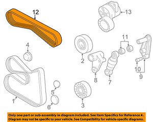 image is loading bmw-oem-03-06-325ci-a-c-ac-serpentine-