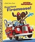 Fearless Firemoose! (Rocky & Bullwinkle) by Golden Books (Hardback, 2014)