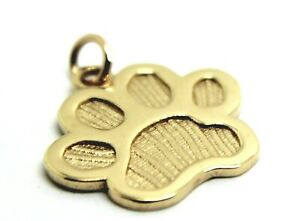 KAEDESIGNS-Large-9ct-Yellow-or-Rose-or-White-Gold-charm-Dog-Animal-PAW-Pendant