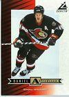 Daniel Alfredsson 1997-98 Pinnacle Zenith Dare to Tear 5x7 Ottawa Senators #Z25