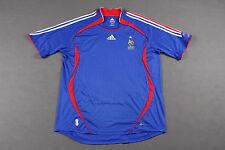 FRANCE 2006 WORLD CUP HOME FOOTBALL SHIRT JERSEY MAGLIA ADIDAS ZIDANE ERA 2XL