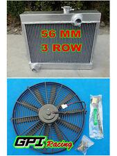 aluminum Radiator for TOYOTA COROLLA KE30 KE38 KE55 KE70 1974-1985 84 83 82+FAN
