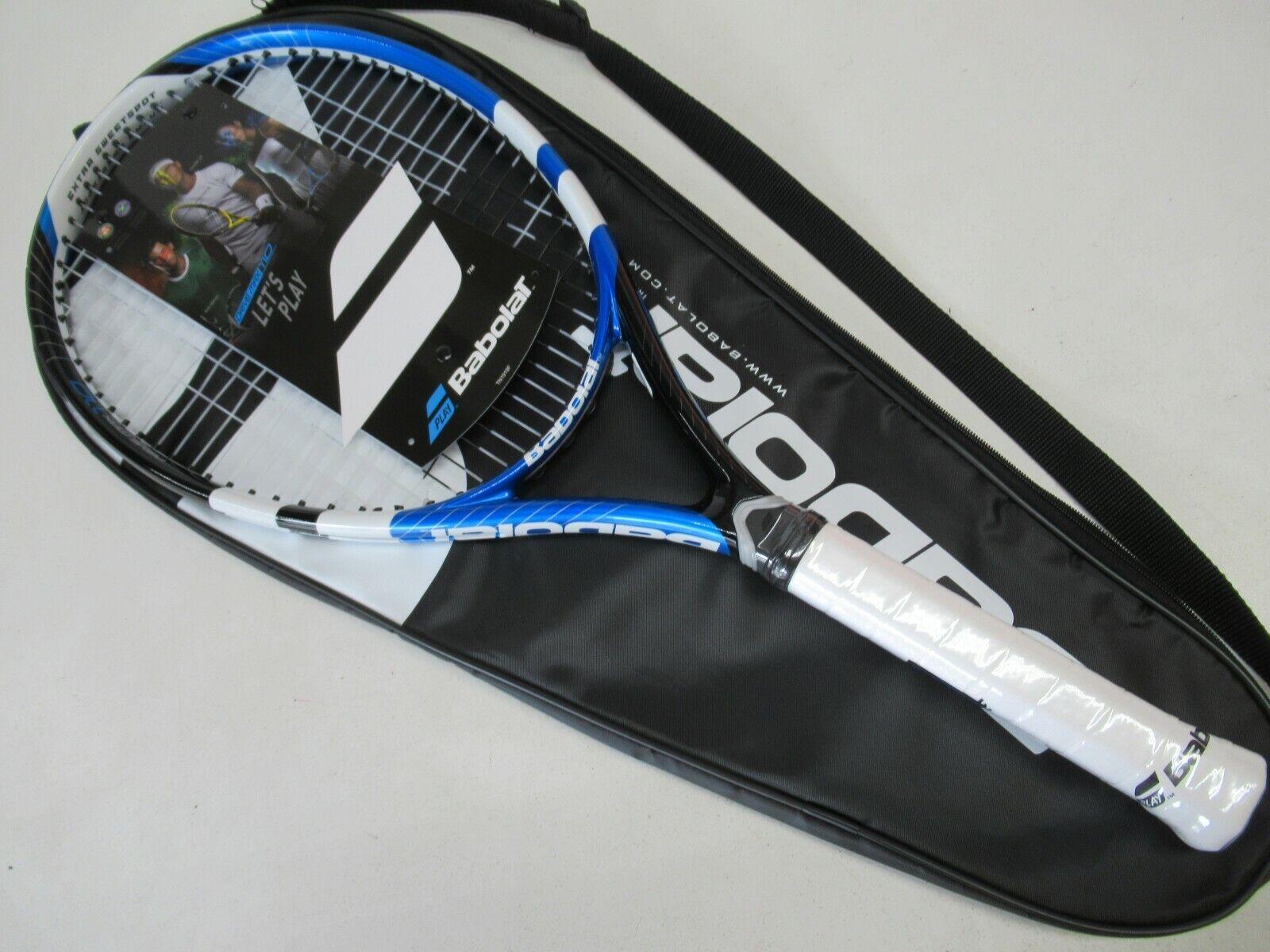 nuevo  Babolat Drive Max 110 tenis raqueta (4 3 8) con cubierta completa. pre-Encordada