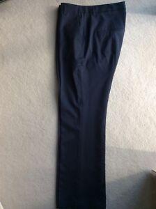 Dorothee Taille Avec Schumacher En Poches 3 Vierge Bleu Uk 12 Pantalon Laine 8x8qCwrY