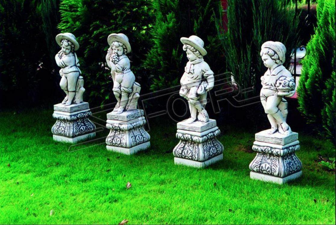 Ragazzo 70cm personaggio figure statua statue scultura decorazione da giardino decorazione 235 NUOVO