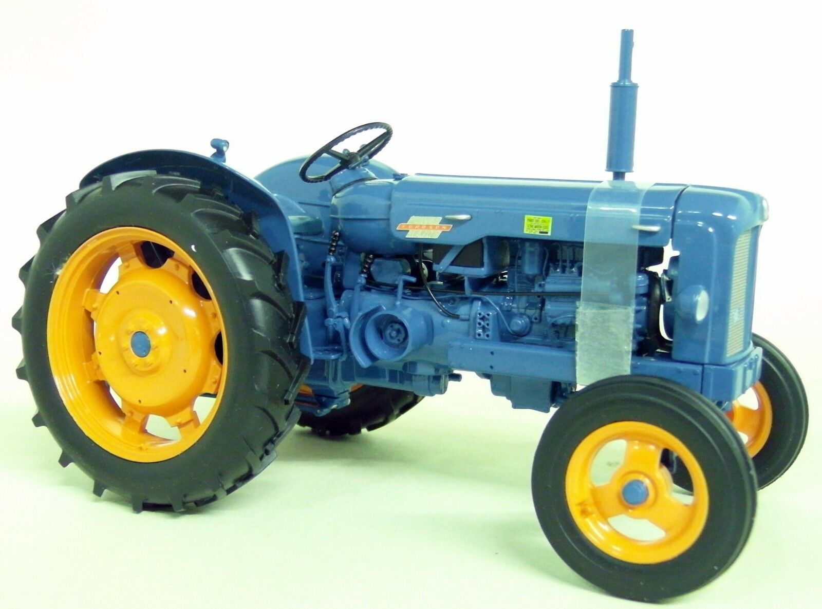 UH 1 16 Scale 2640 1958 Fordson Power Major bluee Vintage diecast model Tractor