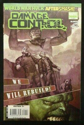 WORLD WAR HULK AFTER SMASH DAMAGE CONTROL #1-#3 SET THE INCREDIBLE HULK NM-