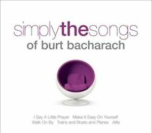 Simply-the-songs-of-Burt-Bacharach-2CDs-2009-Various-Artists-new-amp-sealed