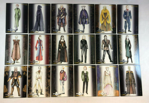 BABYLON 5 SPECIAL EDITION Complete COSTUMES Chase Card Set #C1C18