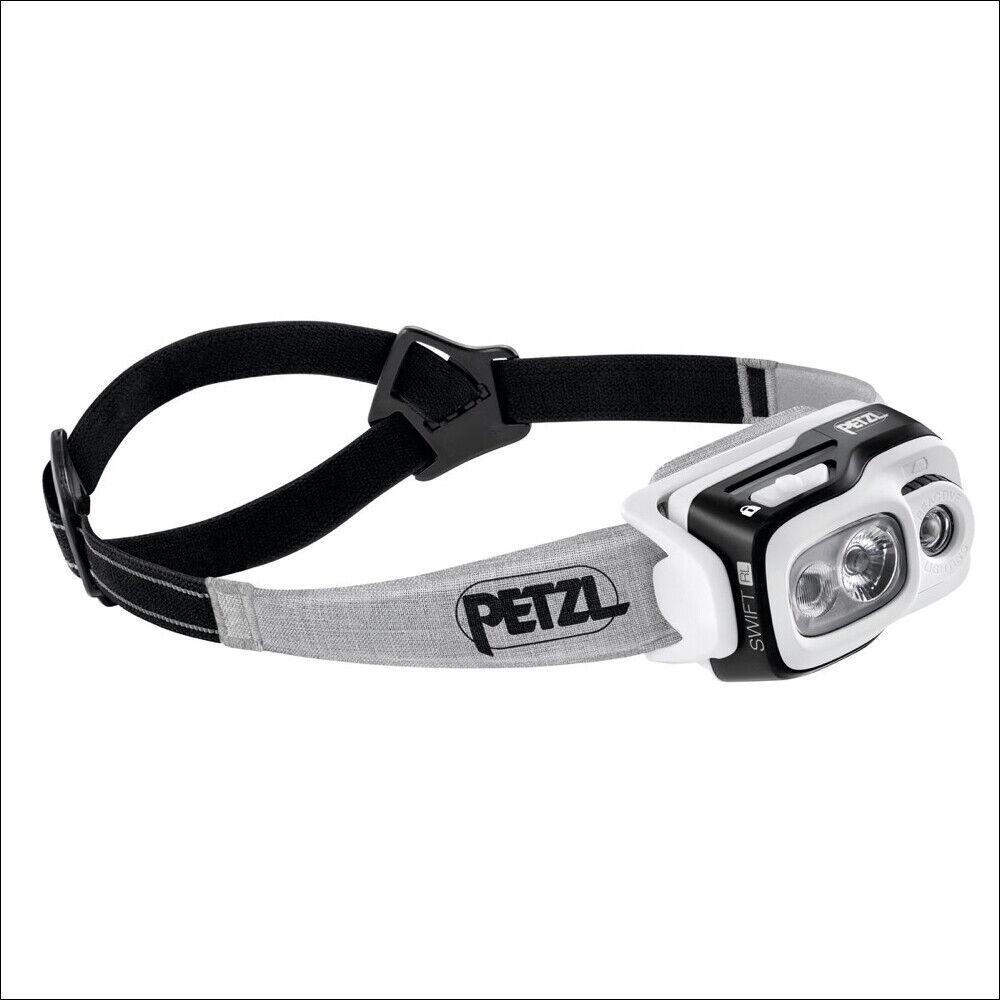 PETZL SWIFT RL schwarz 900 LUMEN INTELLIGENT HEADLAMP RECHARGEABLE HEAD TORCHE