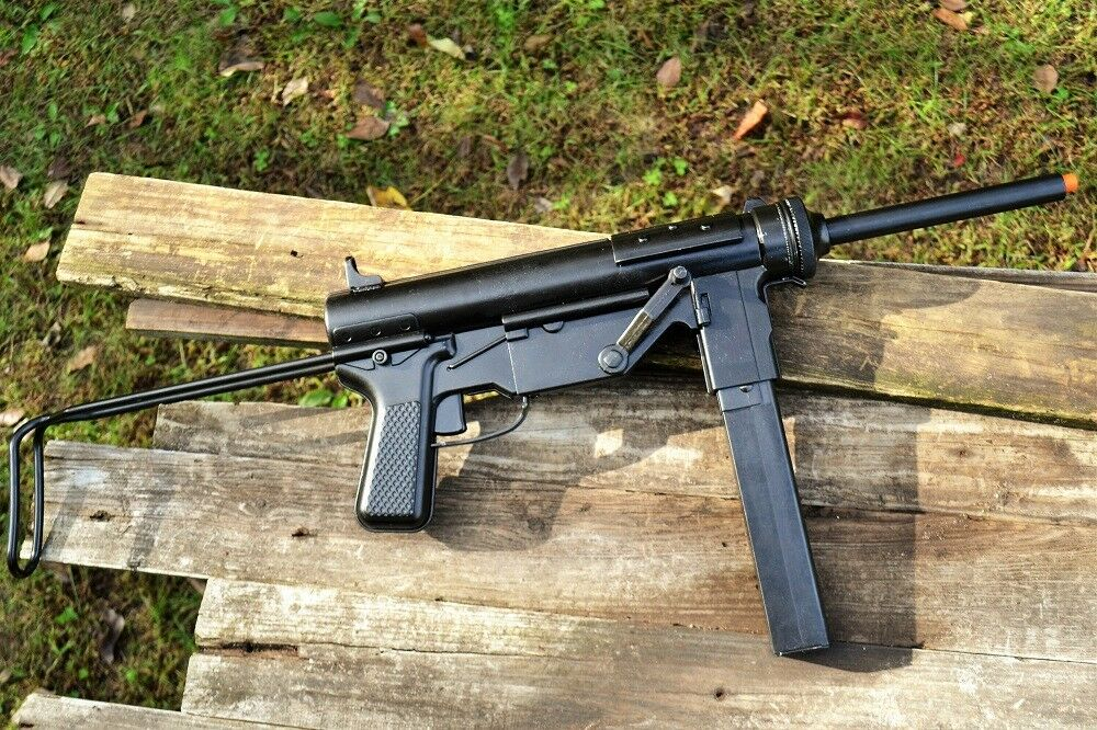 Details about M3 Submachine Gun - Grease Gun - M3A1 - U S  Military-  Non-Firing Denix Replica
