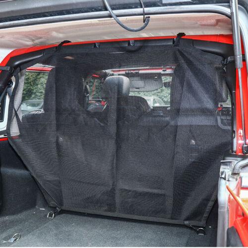 Pet Partition Seat Dog Van Safety Barrier For Jeep Wrangler JL JK 2007-2018 2019