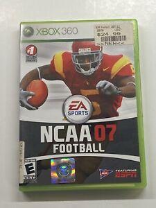 NCAA Football 07 (Microsoft Xbox 360, 2006) GameStop Seal! NEW! Read Description