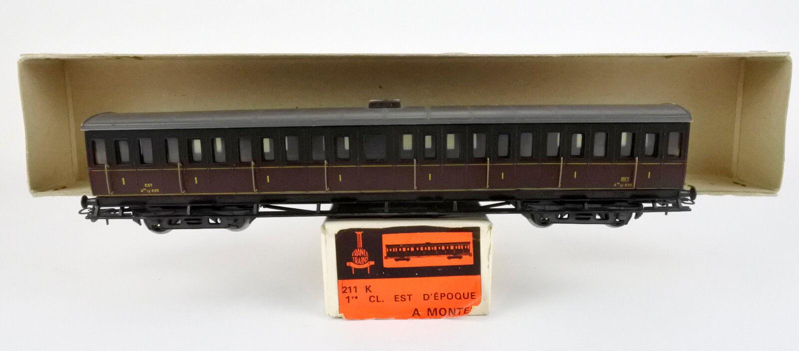 Francia Trenes Escala Ho 211K tipo ferroviaria francesa Ty est 1ST clase turismo