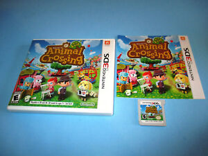 Animal-Crossing-New-Leaf-Nintendo-3DS-XL-2DS-Game-w-Case-amp-Manual