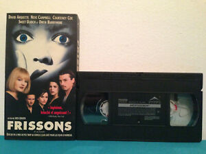 Scream-Frissons-VHS-tape-amp-sleeve-FRENCH