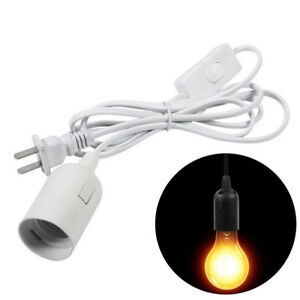 Light-Bulb-Cable-Cord-Chandeliers-With-Switch-Holder-Socket-Base-Converter