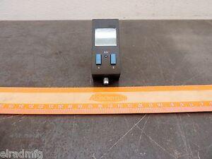 Festo Pressure Sensor 15-30 Volt Dc SDE1-D10-G2-R14-C-P2-M8 Air Pneumatic