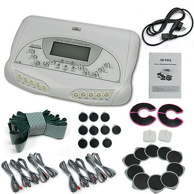 Microcurrent Electro Stimulation Therapy Body Shaping Beauty Instrument Machine