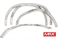 FTFD217 - 93-15 Ford Econoline E-series Van POLISHED Stainless Steel Fender Trim