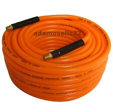 "KOBALT 3/8"" x 100' ORANGE PVC AIR HOSE LINE, 300 PSI, TOOL COMPRESSOR PNEUMATIC"