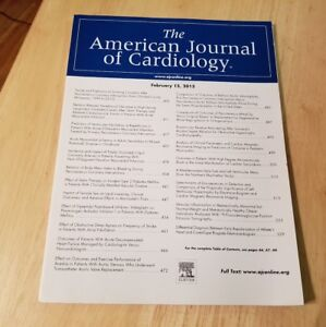 American Journal Of Cardiology February 15 2015 Heart Doctor