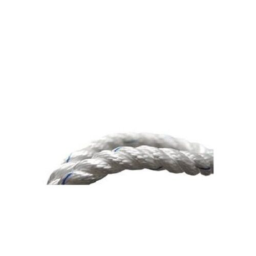 5 M GLEISTEIN Mooring Line Spring, Anchor and Towing geotwist Polyester White
