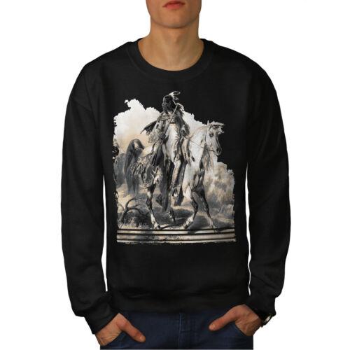 Ride Native Men Black Sweatshirt New American WAwpzOqwf