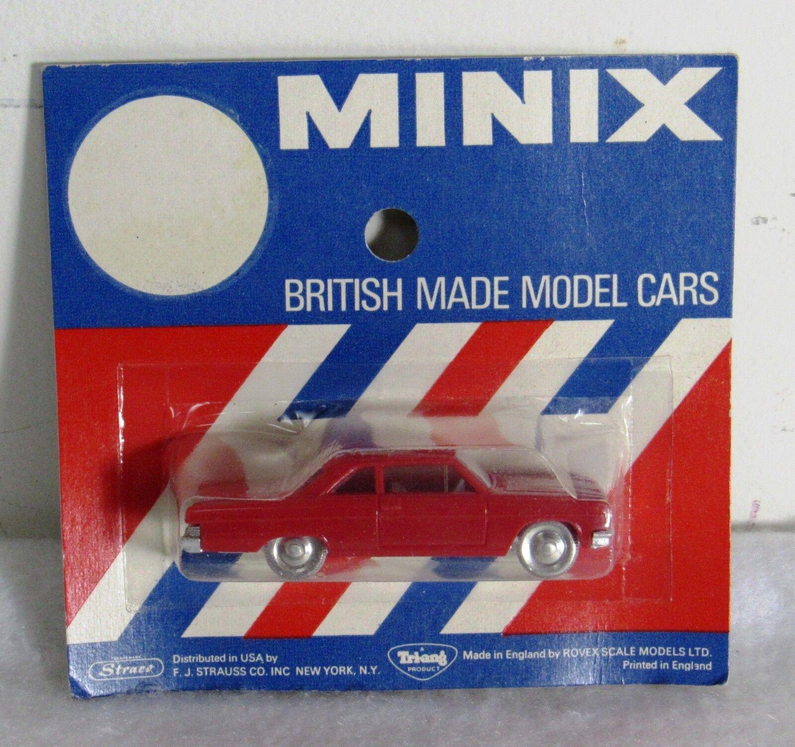 Rosso Triang Minix No17 Rambler Rambler Rambler 770 Classic Model Car Mint on Card 80c4d0