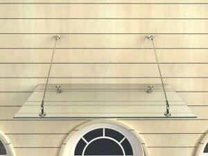 Glasvordach-150x90-cm-Vordach-Haustuer-Tuervordach-Tuerdach-Klarglas-VSG