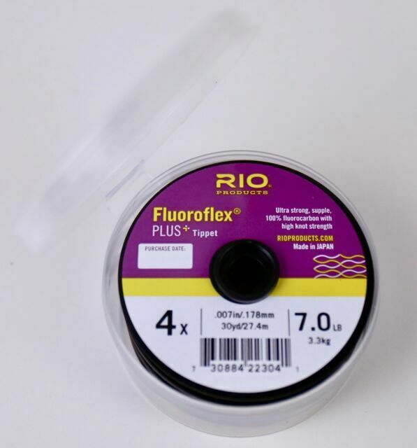RIO Fluoroflex Plus Tippet 8.5lb Size- 3X New