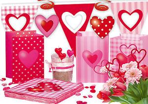 Herz Deko Sweet Love Geburtstag Hochzeit Dekoration Motto Tischdeko