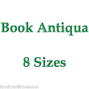 Book Antiqua Regular Font