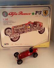 REDUCED!!! Alfa Romeo P3 1932-35 1:20 fully built from Casadio Metal kit