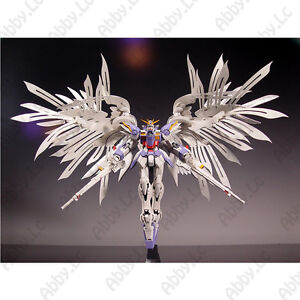 For 1 100 MG XXXG-00W0 Wing Gundam Zero Wing Upgrade Conversion Kit