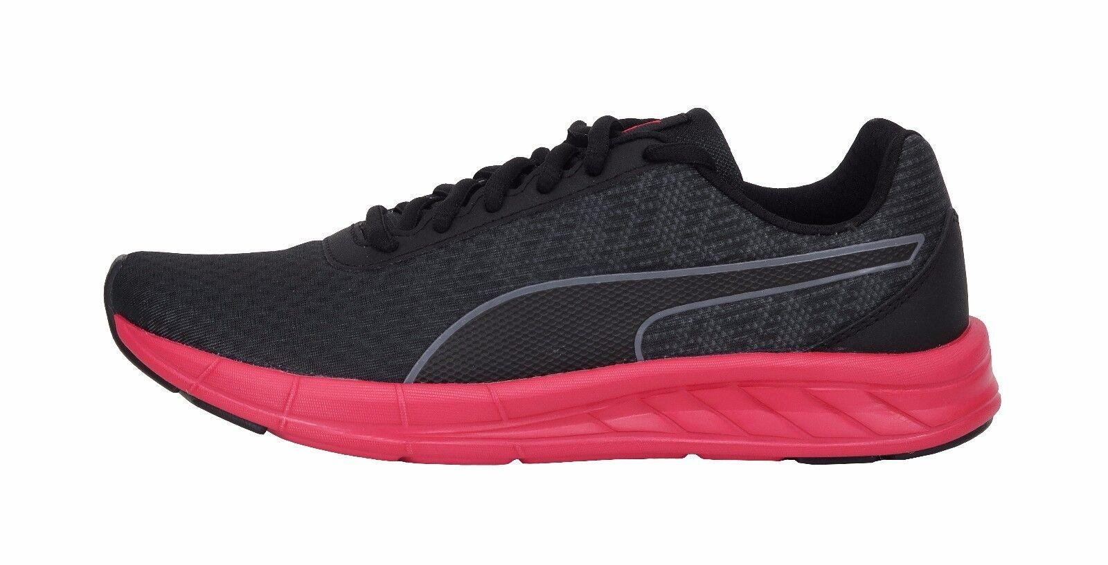 Puma Ligero Zapatos Mujer Cometa Negro Rojo Carbón Ligero Puma Correr Malla 8c8f48