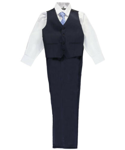 "Kids World Big Boys/' Husky /""C-Suite/"" 5-Piece Suit Sizes 10H - 20H"