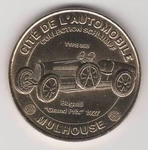-- 2011 Coin Medaille Jeton Monnaie De Paris -- 68 051 Cite Automobile Bugatti 1 Haute RéSilience