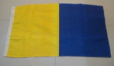 "Nautical // Boat 16/"" X 28/"" A LARGE FLAG Marine Code Naval Signal Flag"