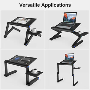 Adjustable-Standing-Desk-Riser-Tray-Stand-Computer-laptop-Desktop-Height-Angle-A