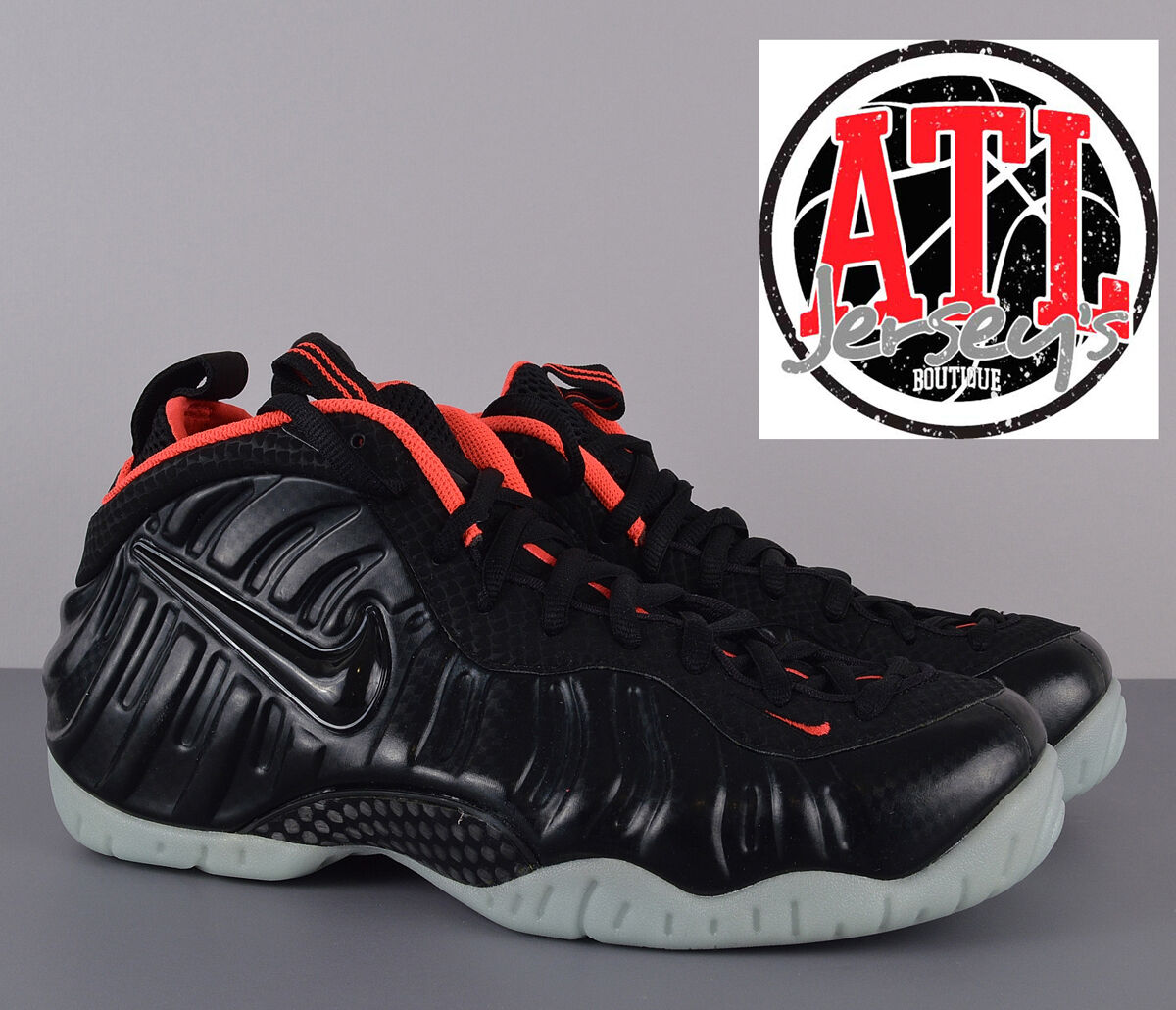Nike Air Foamposite Pro PRM Yeezy Black Laser Crimson 616750-001