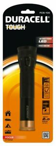 Duracell-Tough-Hand-Flashlight-LED-BlackGold-FCS-100-Brand-New-Sealed-Free-Post