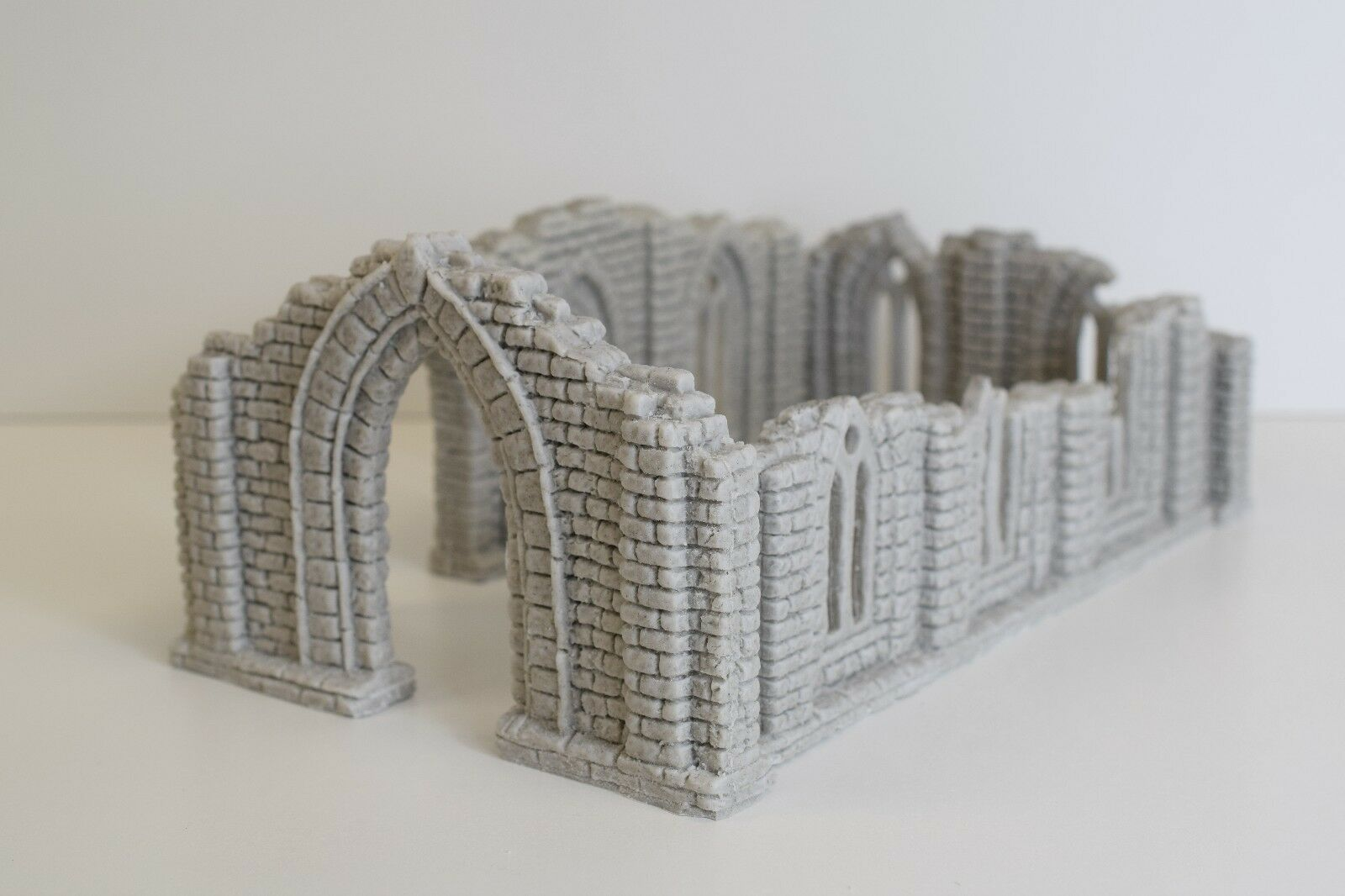 28mm Unpainted Resin Ruined Chapel   Frostgrave   Historical   Fantasy