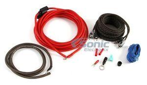 Rockford-Fosgate-RFK10I-10-AWG-Amplifier-Power-amp-Signal-Installation-Kit