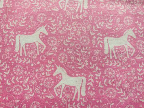 Baby Pink Mint Lilac Unicorn Nursery Cotton Fabric Kites Baby Room Decor Fabric