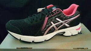 NEW-Asics-Women-Gel-Impression-8-Running-Athletic-Shoes-Black-Pink