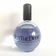 INM Out The Door Super Fast Drying Top Coat 118ml Salon Size Bottle!!!