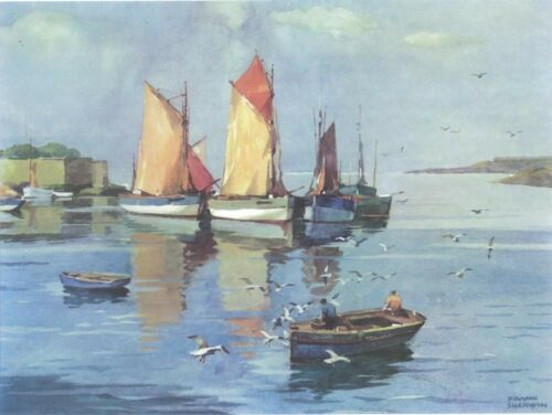 F Sherwin Print The Harbour Morning